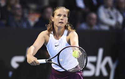 Теннисистка Касаткина не смогла выйти во второй круг Australian Open