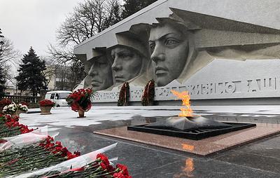 Памятные мероприятия в честь 75-летия Победы начались на Ставрополье