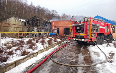 Один пожарный погиб и трое пострадали при тушении пожара в Подмосковье