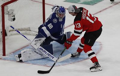 Василевский стал вторым в конкурсе на лучшую серию сейвов в мастер-шоу Матча звезд НХЛ