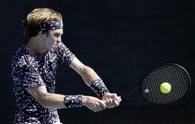 Андрей Рублев вышел в четвертый круг Australian Open