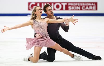 Фигуристы Синицина и Кацалапов завоевали золото ЧЕ в танцах на льду