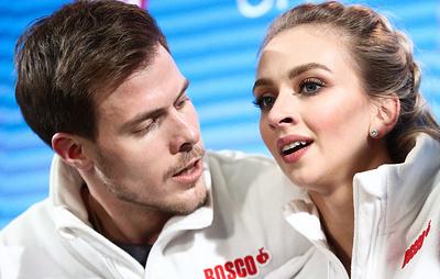 Фигуристы Синицина и Кацалапов признались, что оставили все силы на льду ради победы на ЧЕ
