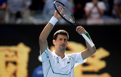 Джокович сыграет с Раоничем в четвертьфинале Открытого чемпионата Австралии по теннису