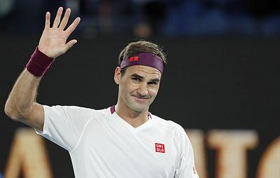 Федерер сыграет с Сандгреном в четвертьфинале Australian Open