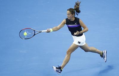 Касаткина получила wild card на теннисный турнир в Санкт-Петербурге