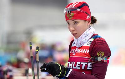 Российская биатлонистка Кайшева выиграла спринт на этапе Кубка IBU