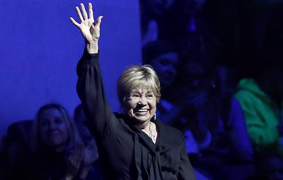 Лариса Латынина получила награду от МОК за вклад в развитие олимпийского движения