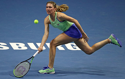 Александрова вышла в четвертьфинал турнира WTA в Санкт-Петербурге