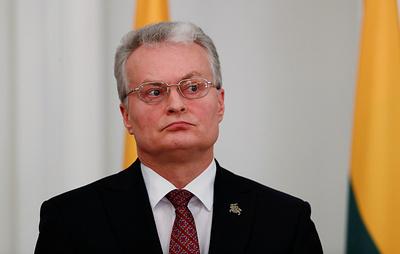 """Президент Литвы рассказал о помощи США и НАТО в сдерживании """"российской угрозы"""""""