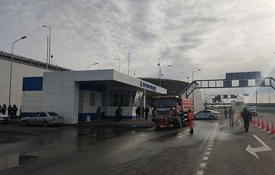 На подъездах к Крымскому мосту открыли новые посты ДПС