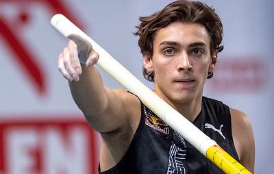 Швед Дюплантис установил мировой рекорд в прыжках с шестом