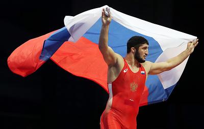 Российский борец вольного стиля Садулаев завоевал золото чемпионата Европы в весе до 97 кг