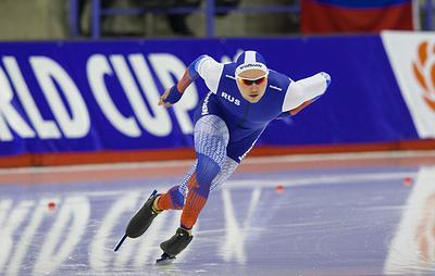 Кулижников установил новый рекорд мира на дистанции 1000 м на ЧМ по конькобежному спорту