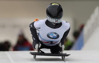 Российская скелетонистка Никитина стала трехкратной чемпионкой Европы