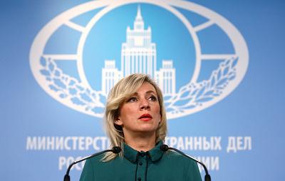 Захарова: РФ озабочена сообщениями о боестолкновениях на линии соприкосновения в Донбассе