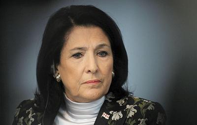 Президент Грузии обвинила Россию в ведении гибридной войны