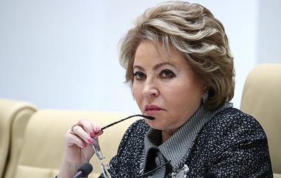 Матвиенко прокомментировала возможность упоминания Бога в Конституции