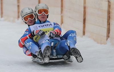Поршнев и Лазарев стали серебряными призерами ЧЕ по натурбану в Москве в двойках
