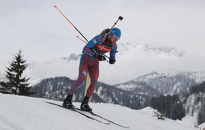 Биатлонист Логинов выступит в эстафете на чемпионате мира в Италии