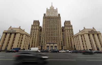 МИД РФ: террористы с января совершили восемь нападений на базу России в Хмеймиме
