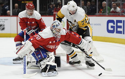 """Два очка Малкина не спасли """"Питтсбург"""" от поражения в матче НХЛ с """"Вашингтоном"""""""