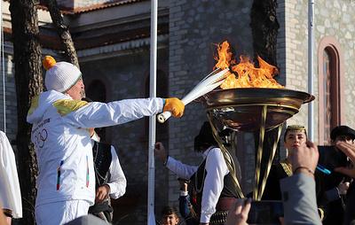 Эстафета олимпийского огня Игр-2020 пройдет 3200 км по территории Греции