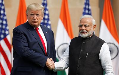США и Индия заключили контракты в сфере обороны более чем на $3 млрд