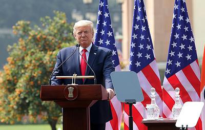 """Трамп не исключил возможности новых """"серьезных санкций"""" в связи с ситуацией в Венесуэле"""