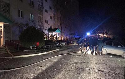 Хлопок газа произошел в девятиэтажке в Калмыкии