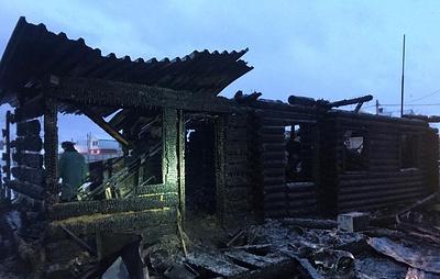 В результате пожара под Иркутском погибли двое детей и мужчина