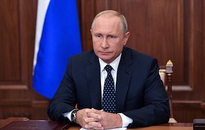 Обращения Владимира Путина к гражданам России. Хронология