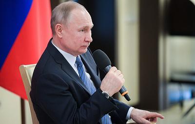 Путин: ситуация с коронавирусом в России точно изменится к лучшему, вопрос в сроках
