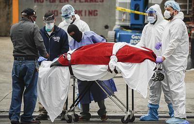 В США от коронавируса умерло больше людей, чем в Китае