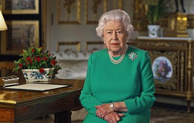 Елизавета II поблагодарила британцев, соблюдающих карантин