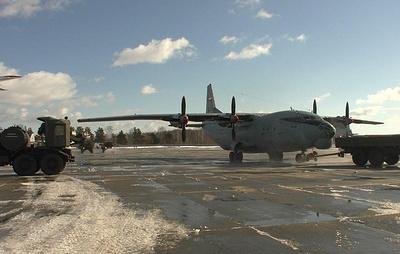 Военные летчики отработали посадку на условно зараженные аэродромы Сибири и Урала