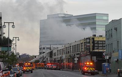 Пожар в Лос-Анджелесе потушили