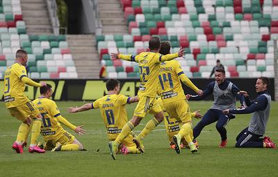 БАТЭ в четвертый раз стал обладателем Кубка Белоруссии по футболу