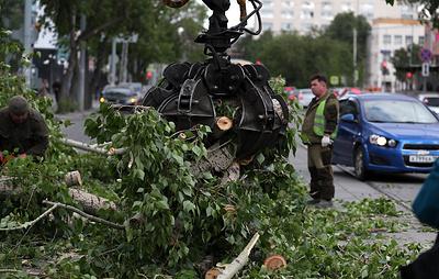 В Екатеринбурге восстановили работу общественного транспорта  после урагана