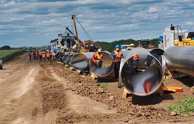 """Газопровод """"Балканский поток"""" может быть завершен до конца года"""