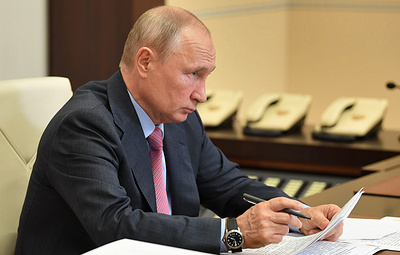 Путин подписал указ о проведении голосования по поправкам в Конституцию РФ 1 июля