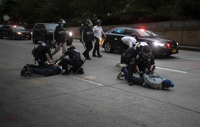 AP: более 9 тыс. человек задержаны в США за время протестов