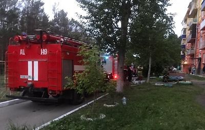 В Приангарье при пожаре в пятиэтажном доме погиб ребенок