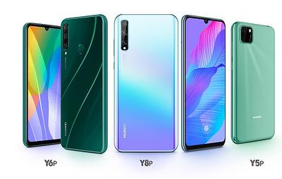 Продажи бюджетной серии смартфонов Huawei Y стартовали в России