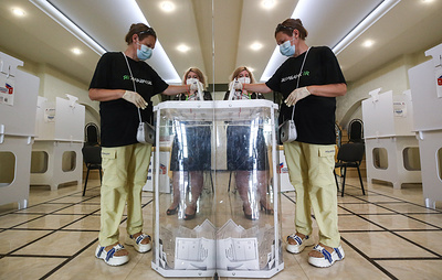 Итоговая явка на голосовании по поправкам к Конституции РФ в Москве составила 55,93%