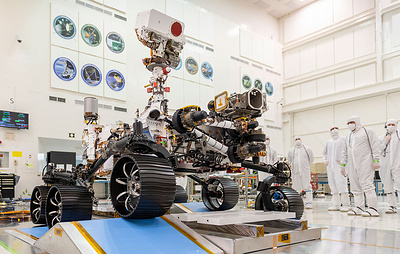 Запуск нового марсохода NASA перенесли на 30 июля
