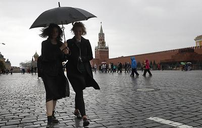 Ливень, град и шквалистый ветер ожидаются в Московском регионе