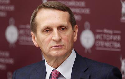 Нарышкин заявил, что дело Сафронова не связано с его профессиональной деятельностью