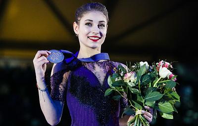 Косторная гордится получением награды лучшему новичку ISU Skating Awards