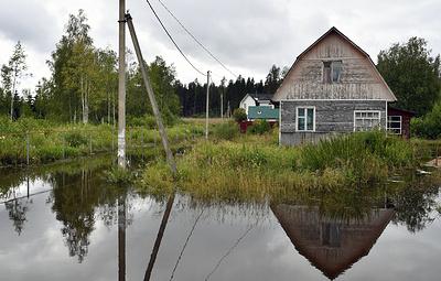 В Подмосковье за сутки вода ушла из 39 дачных домов и 149 дачных участков